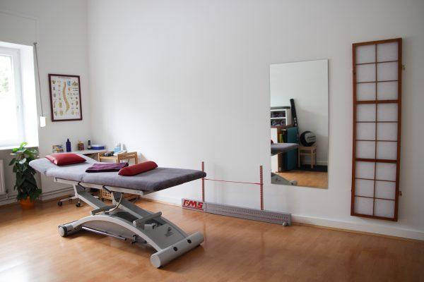 Behandlungsraum 2 Heilpraxis Rogler